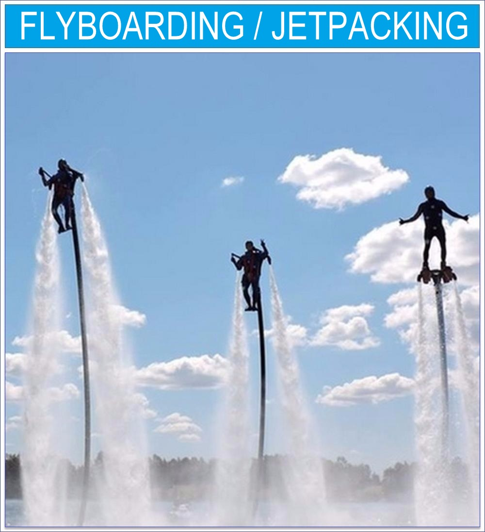 EXtreme HP Flyboarding Jetpacking