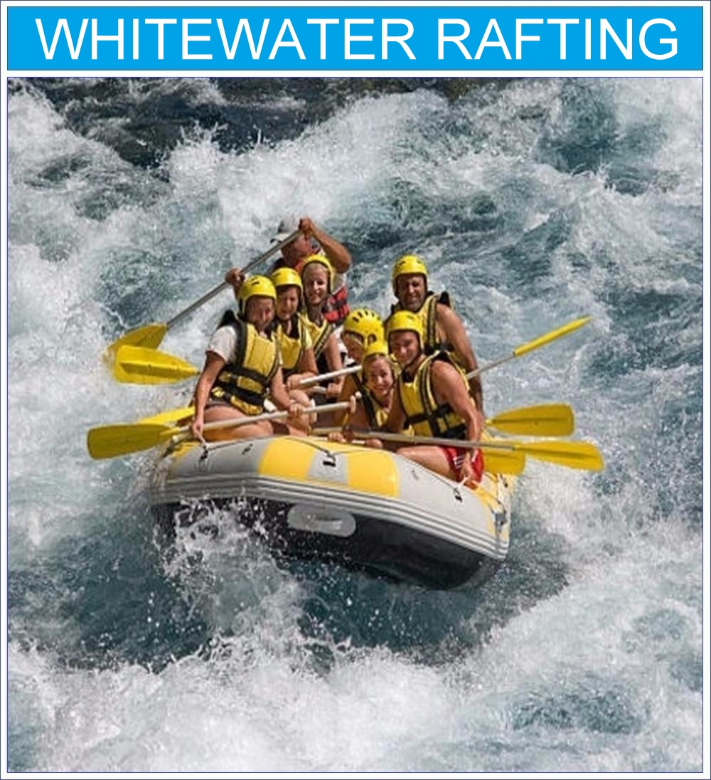 EXtreme HP Whitewater Rafting